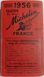 16 Guide Rouge Michelin 1956