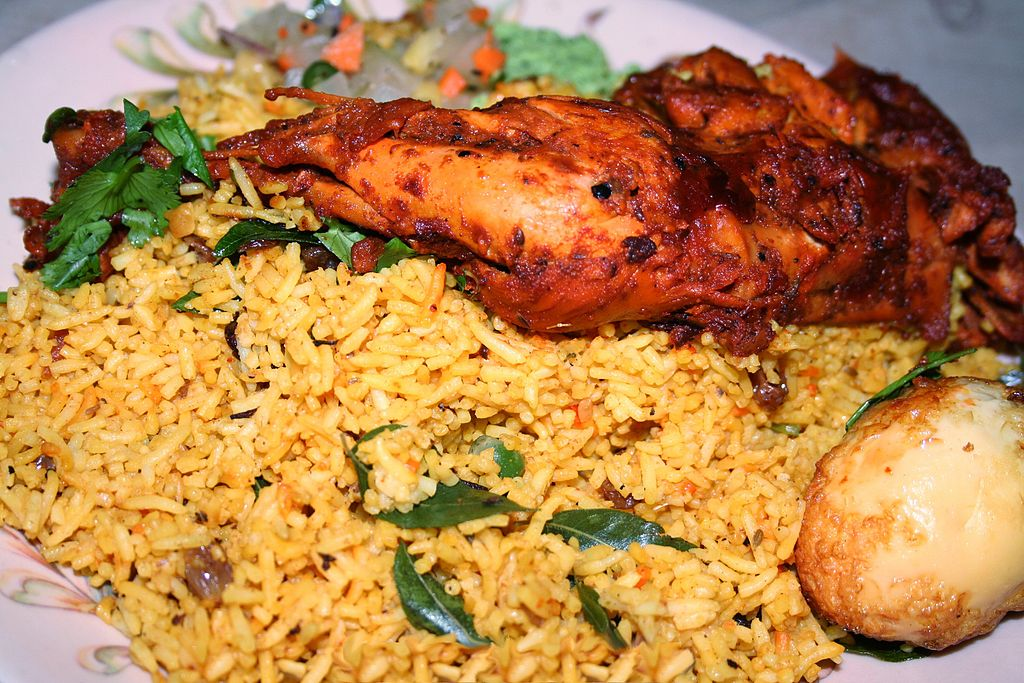 Chicken Biryani 1
