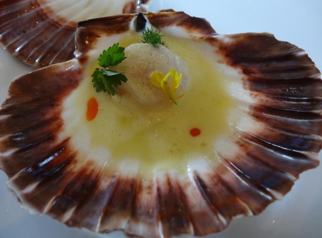 16 Le Coquillage Menu Au Gre Vent Maree Coquille St Jacques 1