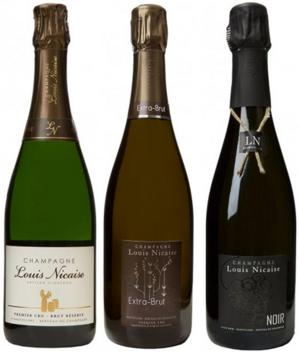 19 Champagne Louis Nicaise Cuvees