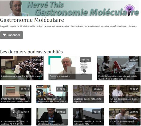 17 AgroParisTech Cours Moleculaire Herve This Video