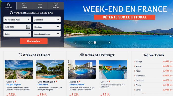 20 Promovacances WE