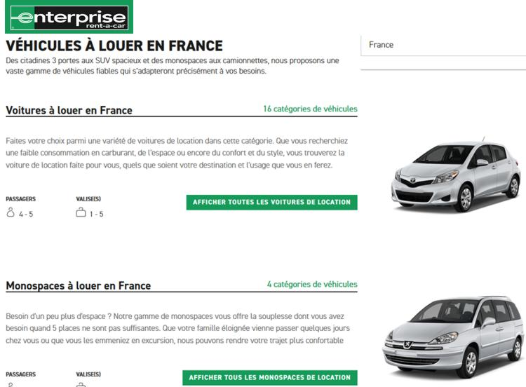 19 Enterprise Rent a Car