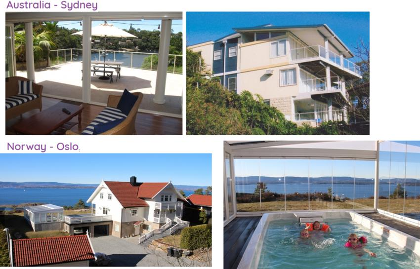 19 Home Exchange Australie Norvege