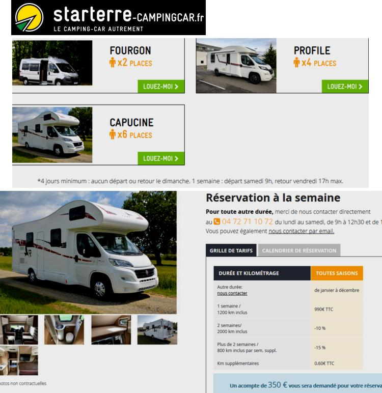 19 Starterre CampingCars