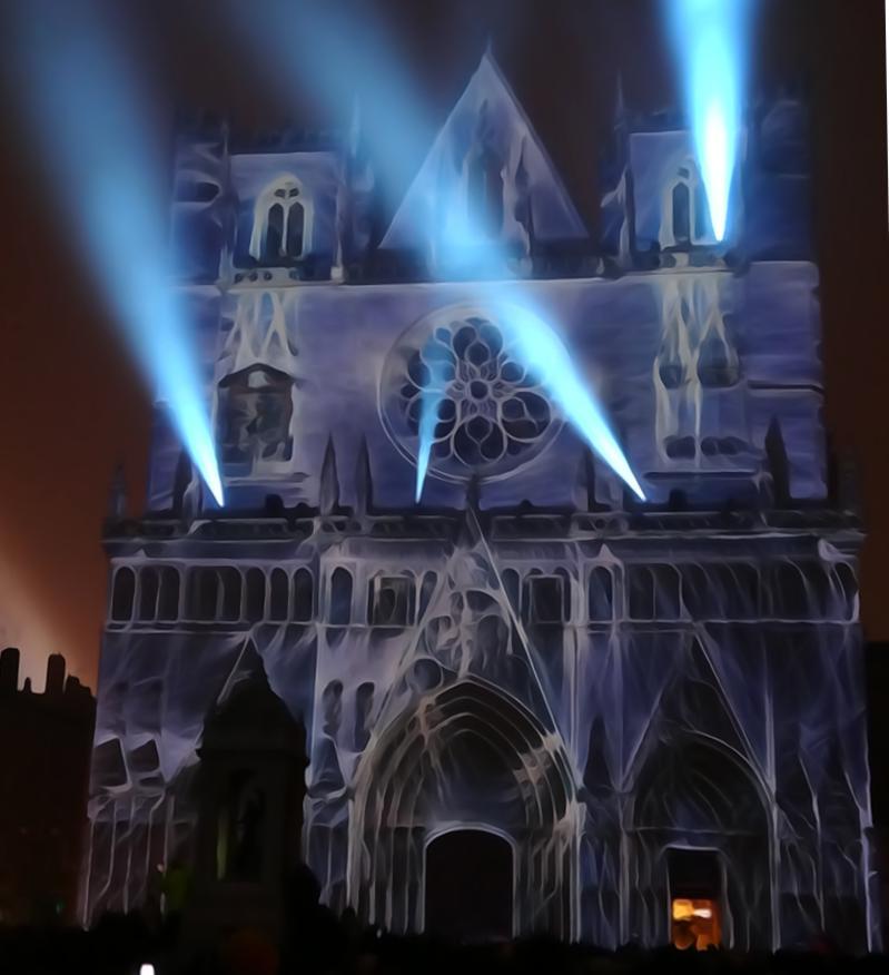 19 Fete Lumieres Cathedrale St Jean Genesis Art 999
