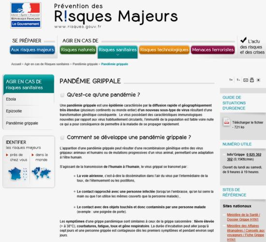 16 Gouvernement Risques Majeurs
