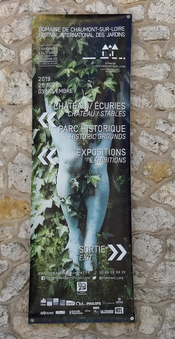19 Chaumont sur Loire Affiche Infos