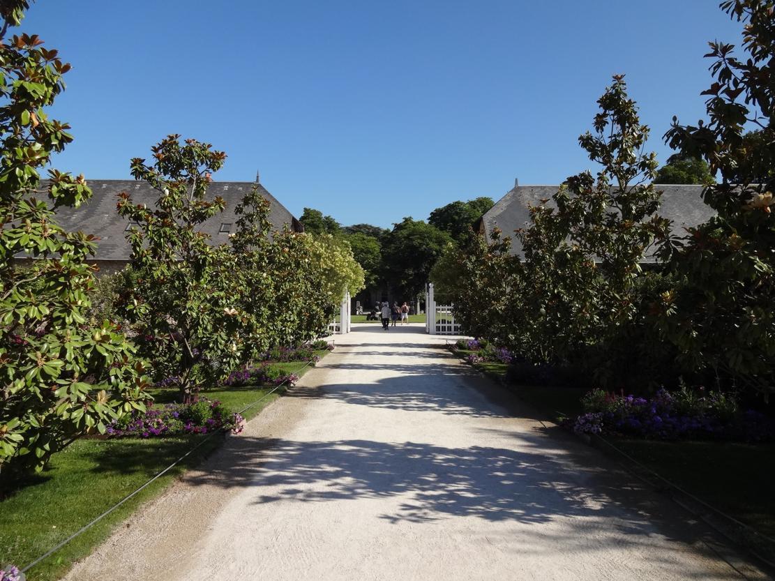 19 Chaumont sur Loire Allee Entree