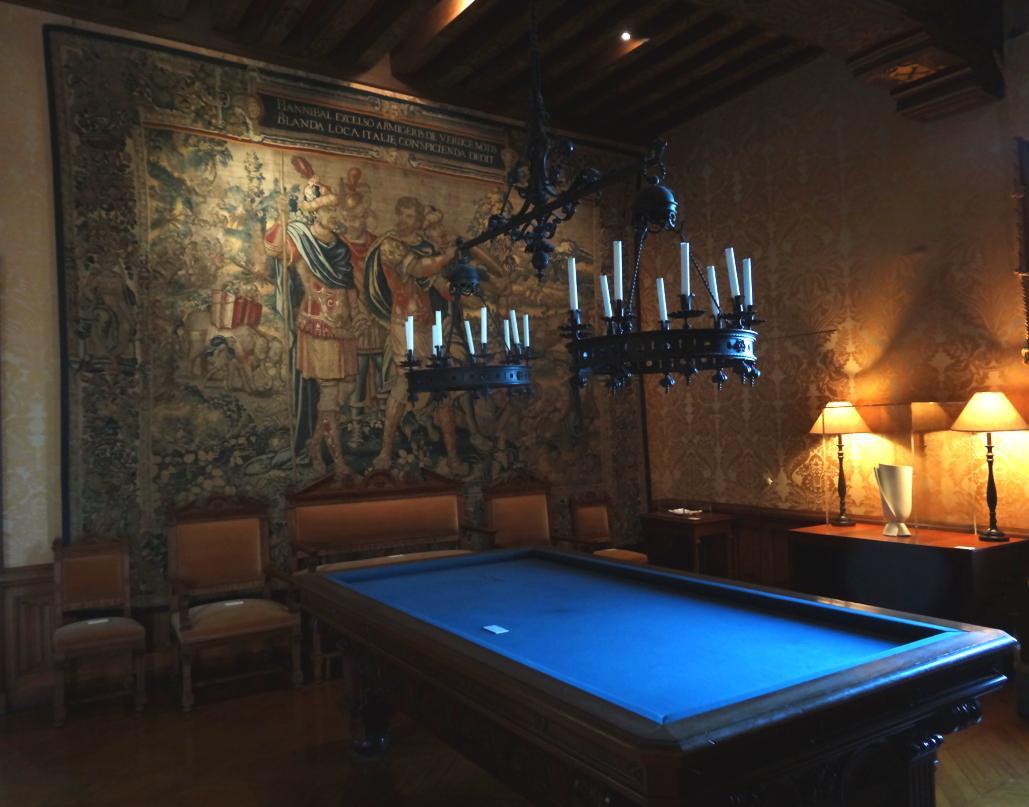 19 Chaumont sur Loire Chateau Salle Billard