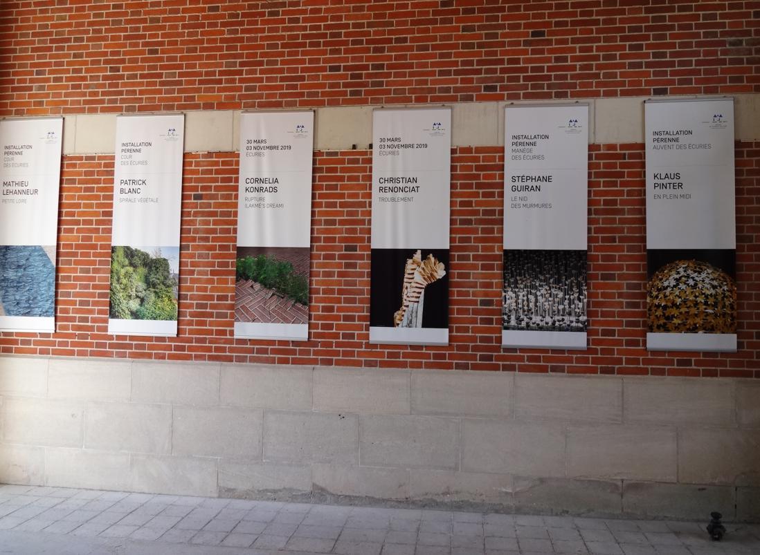 19 Chaumont sur Loire Ecurie Int Oeuvre Art Liste