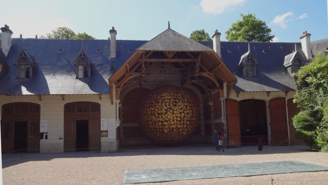 19 Chaumont sur Loire Ecurie Int Oeuvre Art