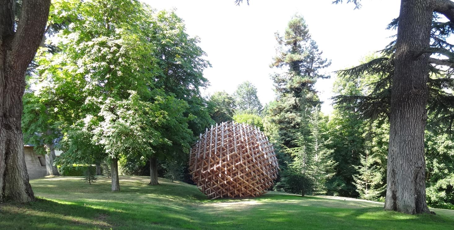 19 Chaumont sur Loire Ecurie Oeuvre Art