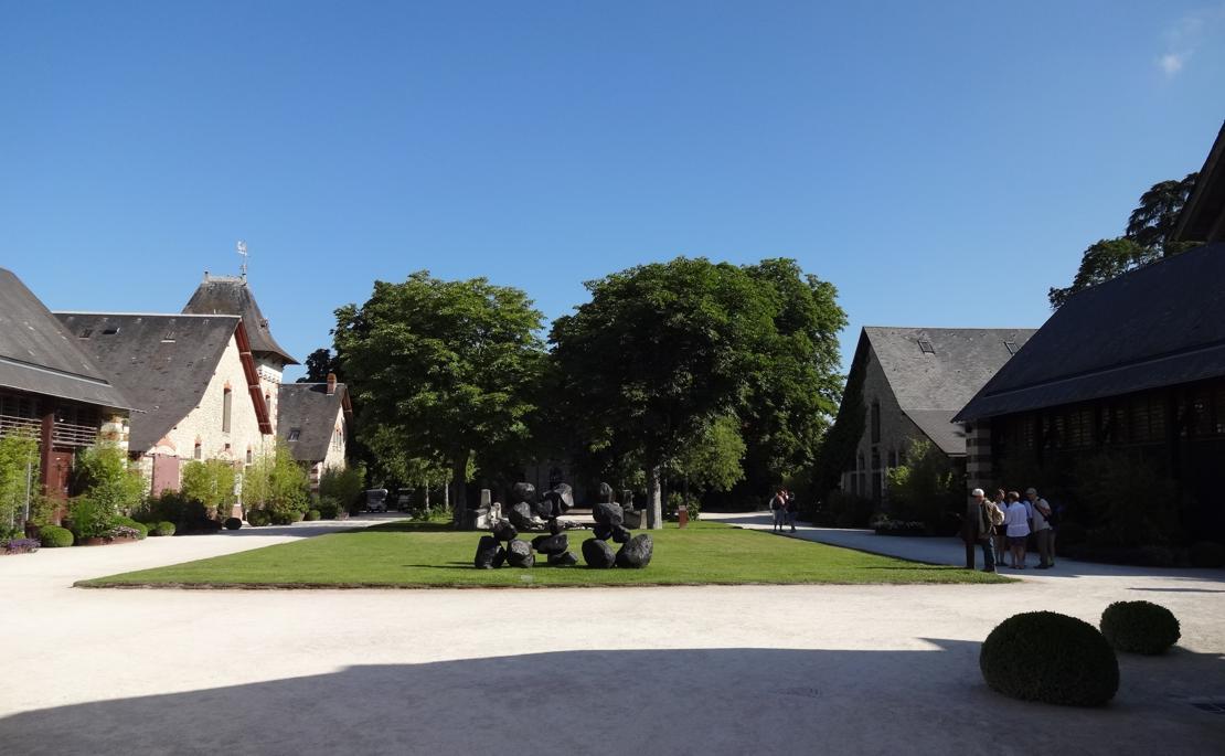 19 Chaumont sur Loire Entree Sud