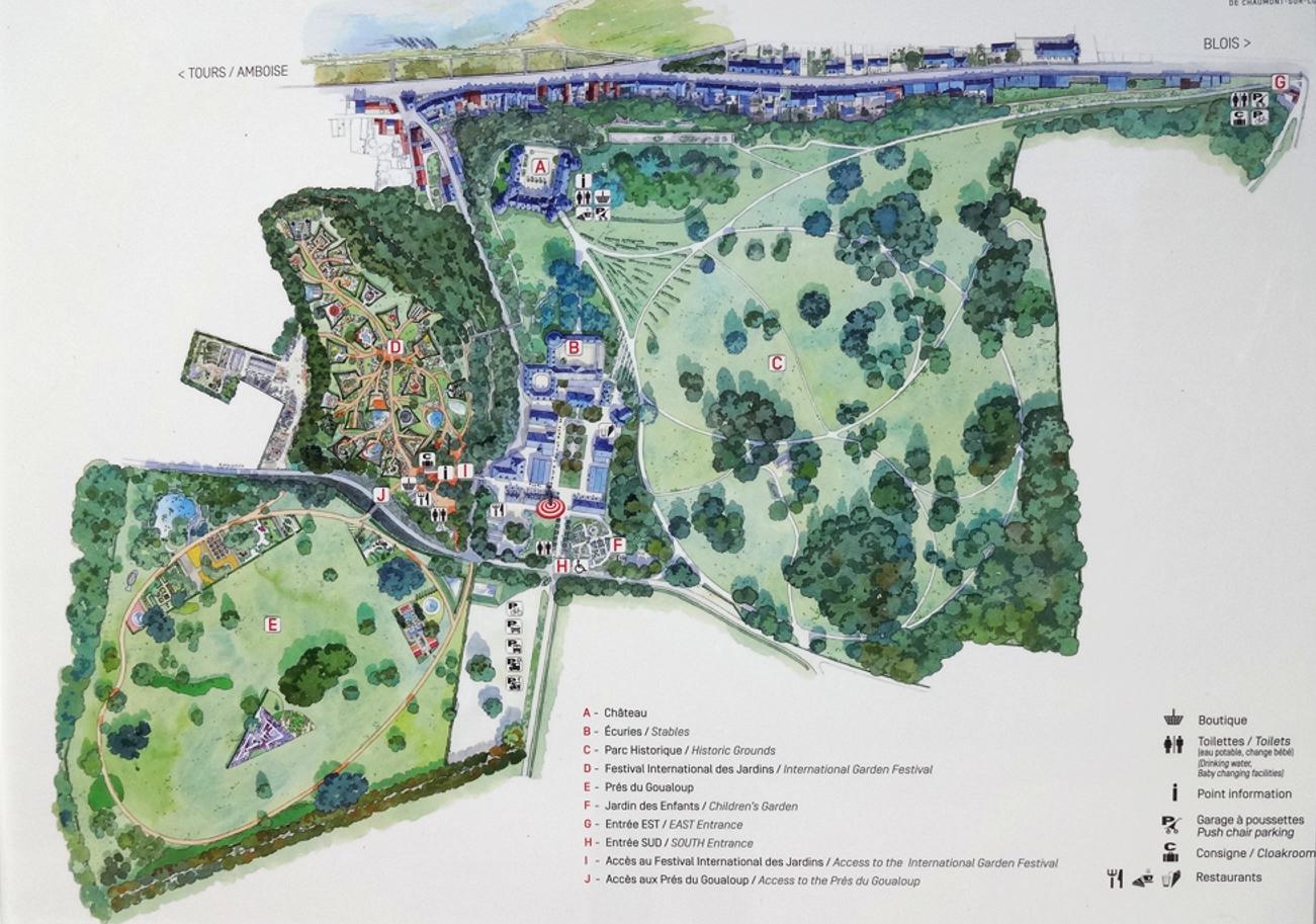 19 Chaumont sur Loire Plan