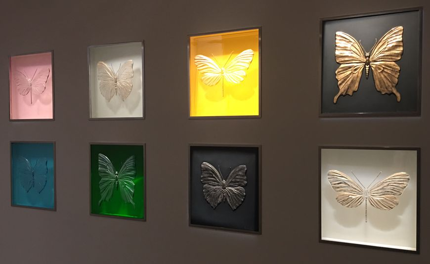 21 Musee Lalique Papillons Damien Hirst