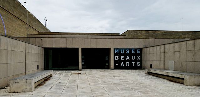 21 Caen Musee Beaux Arts Ext