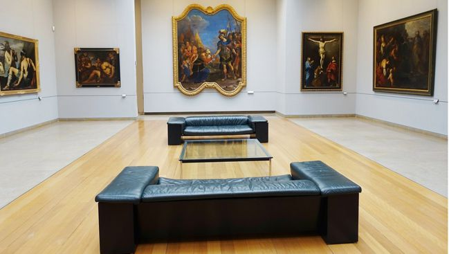 21 Caen Musee Beaux Arts Int Salle