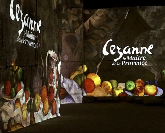 21 Carrieres de Lumieres Baux de Provence Expo Cezanne 51