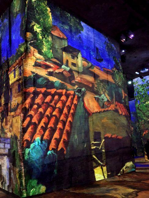 21 Carrieres de Lumieres Baux de Provence Expo Cezanne