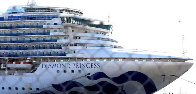 20 Paquebot Croisiere Diamond Princess Japon