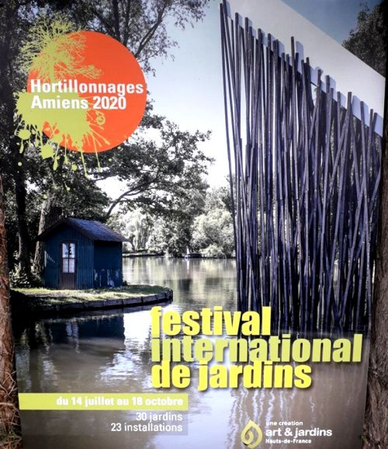 Le Festival International de Jardins Hortillonnages d'Amiens